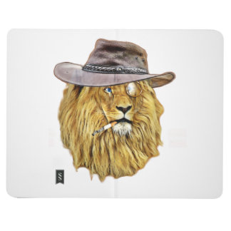 Hipster Lion Animal Journal