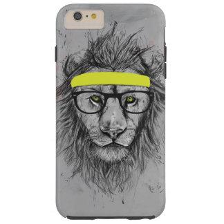 Hipster lion tough iPhone 6 plus case