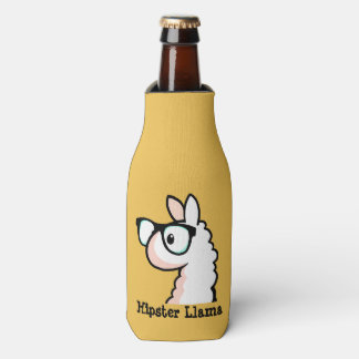 Hipster Llama Bottle Cooler