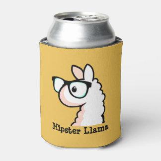 Hipster Llama Can Cooler
