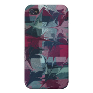 Hipster Madness Hard Shell Case for iPhone 4