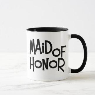 Hipster Maid of Honor Mug