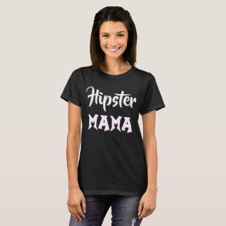 Hipster Mama Millennial T-Shirt