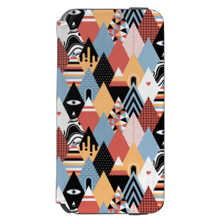 Hipster modern mystic triangle geometric pattern incipio watson™ iPhone 6 wallet case