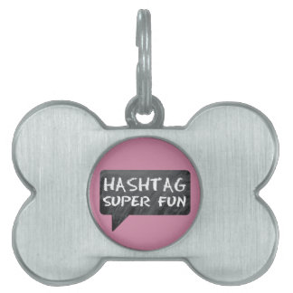 Hipster Mom Pet ID Tag