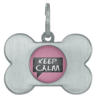 Hipster Mom Pet Tag