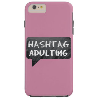 Hipster Mom Tough iPhone 6 Plus Case