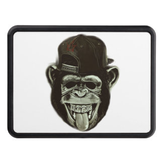 Hipster Monkey Trailer Hitch Cover