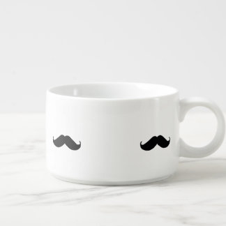 Hipster Mustache Bowl
