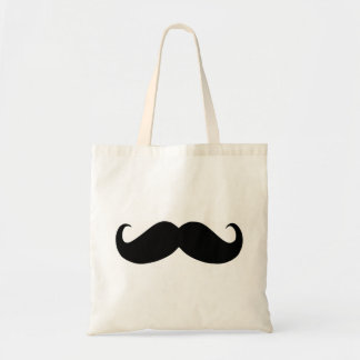 Hipster Mustache Budget Tote Budget Tote Bag