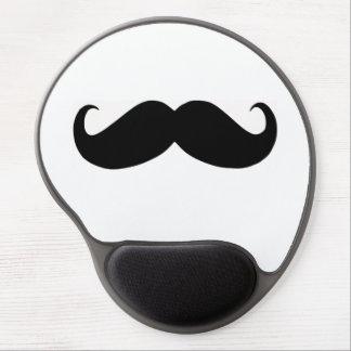 Hipster Mustache Gel Mousepad