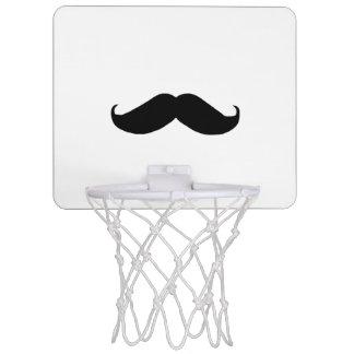 Hipster Mustache Mini Basketball Hoop