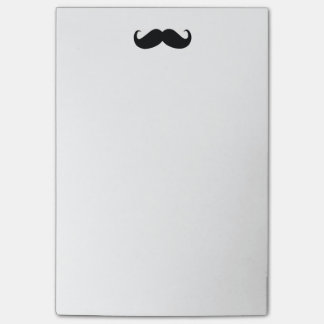 Hipster Mustache Post-it® Note 4x6 Post-It Note