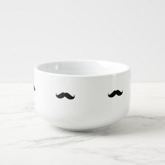 Hipster Mustache Soup Mug
