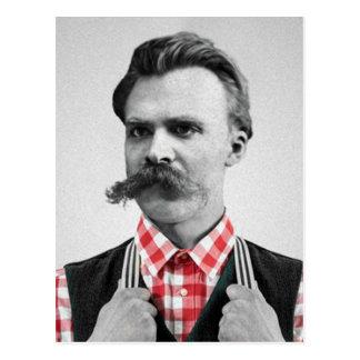 Hipster Nietzsche Postcard