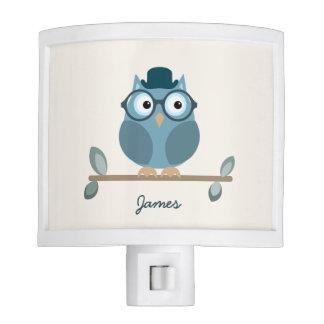 Hipster Owl Night Lamp Night Light