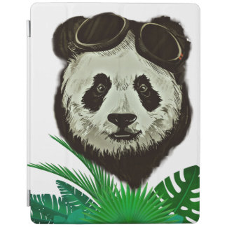 Hipster Panda Bear Animal iPad Cover