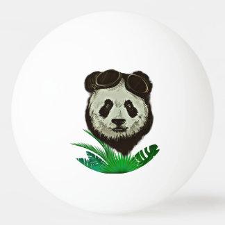 Hipster Panda Bear Animal Ping Pong Ball