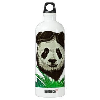Hipster Panda Bear Animal Water Bottle
