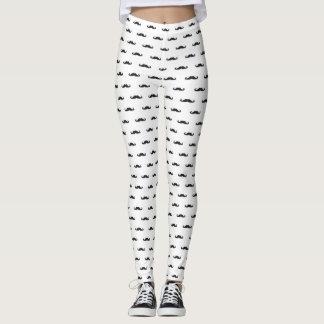 Hipster pattern leggings