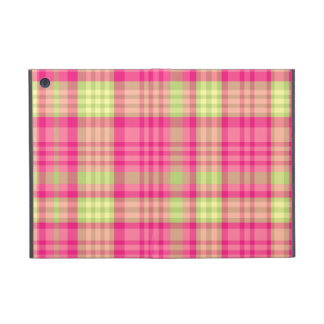 Hipster Preppy Girly Cute Fun Modern Plaid Cover For iPad Mini