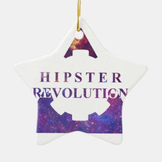 Hipster Revolution GEAR Christmas Ornaments