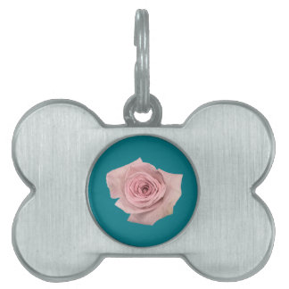 Hipster Roses Pet ID Tag