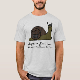 Hipster Snail - Light Tee