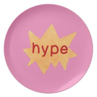 Hipster Teen Plate