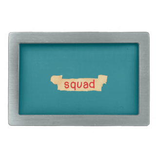 Hipster Teen Rectangular Belt Buckle