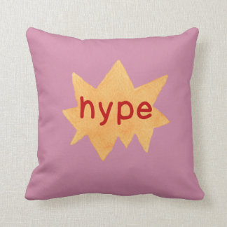 Hipster Teen Throw Pillow