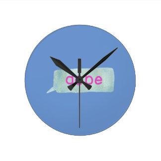 Hipster Teen Wall Clock