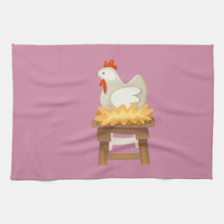 Hipster Thanksgiving Kitchen Towel