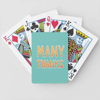Hipster Thanksgiving Poker Deck