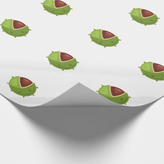 Hipster Thanksgiving Wrapping Paper