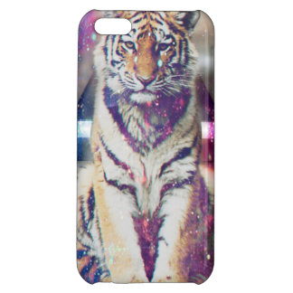 Hipster tiger - tiger art - triangle tiger - tiger cover for iPhone 5C