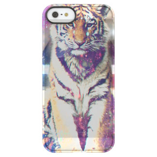 Hipster tiger - tiger art - triangle tiger - tiger permafrost® iPhone SE/5/5s case