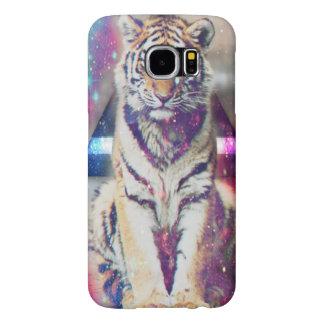 Hipster tiger - tiger art - triangle tiger - tiger samsung galaxy s6 cases