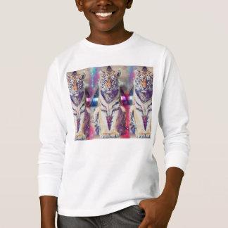 Hipster tiger - tiger art - triangle tiger - tiger T-Shirt