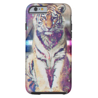 Hipster tiger - tiger art - triangle tiger - tiger tough iPhone 6 case