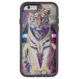 Hipster tiger - tiger art - triangle tiger - tiger tough xtreme iPhone 6 case