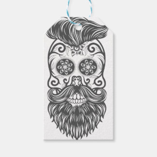 Hipster to sugar skull 1 gift tags