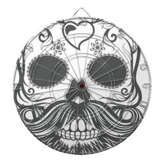 Hipster to sugar skull 2 dartboard