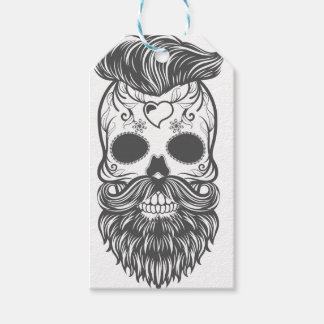 Hipster to sugar skull 2 gift tags