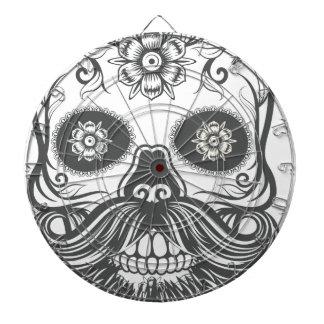 Hipster to sugar skull 3 dartboard