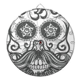 Hipster to sugar skull 4 dartboard