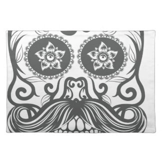 Hipster to sugar skull 4 placemat