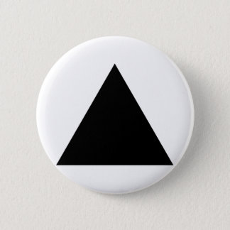 hipster triangle 2 inch round button