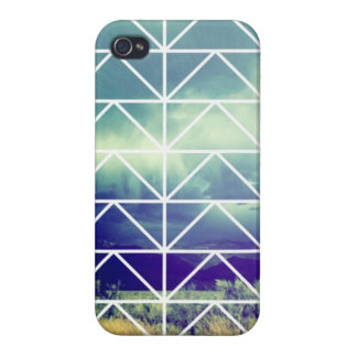 Hipster Triangle Case iPhone 4 Cases