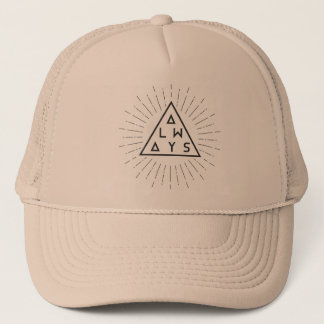 "Hipster Trucker Hat ""ALWAYS"""